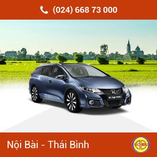 Taxi Nội Bài đi TP Thái  Bình giá rẻ