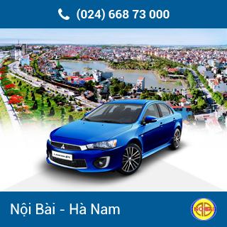 Taxi Nội Bài đi TP Phủ Lý giá rẻ