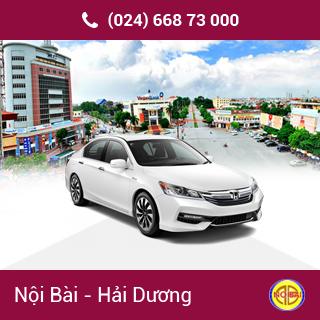 Taxi Nội Bài đi Tp Hải Dương giá rẻ