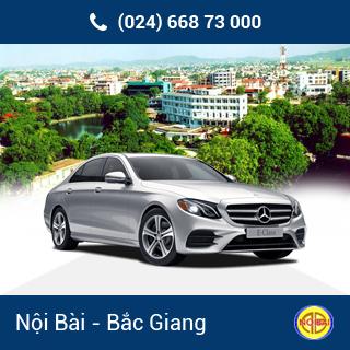 Taxi Nội Bài đi TP Bắc Giang giá rẻ
